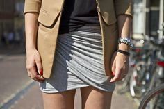 DIY Wrap Mini Skirt