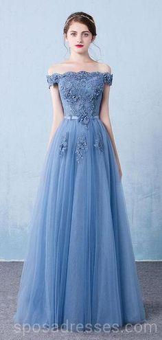 Prom Dresses Blue, Prom Dresses A-Line, Prom Dresses Long, Modest Prom Dresses, Evening Dresses Cheap Prom Dresses 2019 Dresses Elegant, Trendy Dresses, Cheap Dresses, Vintage Dresses, Beautiful Dresses, 50s Vintage, Semi Formal Dresses Long, Dresses Dresses, Vintage Style