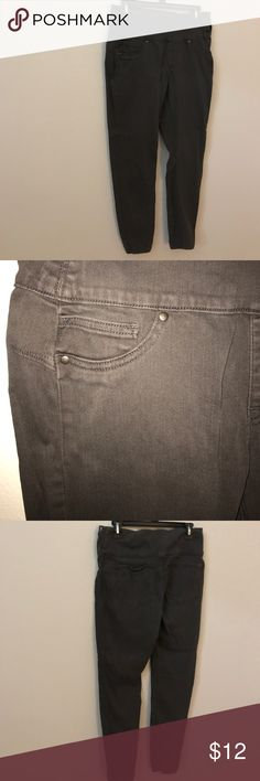 Spanx dark chocolate brown jeggings L 10/12 Good used condition SPANX Jeans Skinny