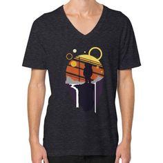 Explorer Astronaut Adventure V-Neck (on man) Shirt