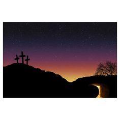 empty cross empty tomb - Google Search