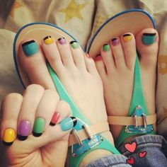 49 - Very beautiful nail designs in different colors - 1 We offer different styles and different nail designs for ladies. You can go inside and see th. Beautiful Sandals, Beautiful Toes, Beautiful Nail Designs, Beautiful Dresses, Sexy Nails, Sexy Toes, Toe Nails, Stylish Girls Photos, Girl Photos
