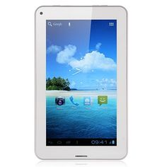 SoXi X8 Elite Version 7 Inch MID Tablet PC Android 4.0 8GB 2G/GSM Monster Phone Dual Camera Color White