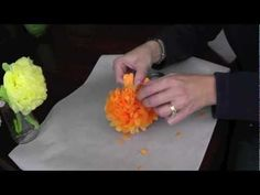 Tissue Paper Flower - Perfect Mother's Day Craft! #MothersDay
