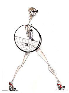 Jamie Lee Reardin Chanel Printhttp://www.vialosangeles.com/products/jamie-lee-reardin-chanel-print/