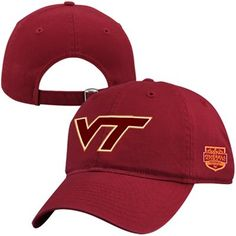 Virginia Tech Hokies 2012 Russell Athletic Bowl Champions Adjustable Hat!
