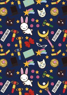 Sailor moon anime background cutes