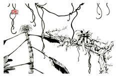 Evolution, food chains, illustration for hand cut paper sculpture - copyright Ann Dadd Cut Paper, Paper Cutting, Food Chains, Portfolio Design, Evolution, Ann, Graphic Design, Sculpture, Illustration