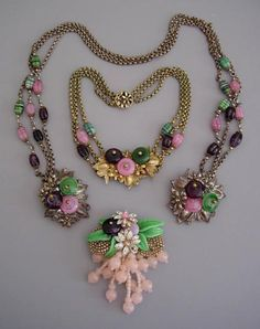 Miriam Haskell Necklace -LOVE,WANT!!