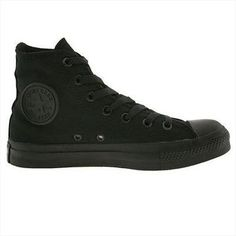 bde566a1deb6 Converse Chuck Taylor All Star Hi Shoes - Black Mono Women s Converse
