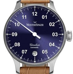 """MeisterSinger Circularis Automatik Watch - by Richard Cantley See how less can be more at: aBlogtoWatch.com """"Münster, Germany-based MeisterSinger is fulfilling a commitment to bolster its famed Circularis line with the release of a brand-new automatic variant, the MeisterSinger Circularis Automatik watch. With a Baselworld 2016 debut, MeisterSinger is expanding the line which has already taken home a Red Dot Design Award for its uniquely..."""""""