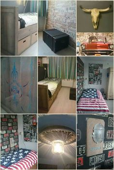 Beds tvs and blue on pinterest - Baby slaapkamer deco ...