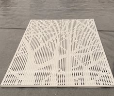 Pattern perforated metal Metal Mesh Screen, Decorative Metal Screen, Steel Curtain, Dental Office Design, Office Interior Design, Expanded Metal Mesh, Perforated Metal, Metal Ceiling, Metal Panels