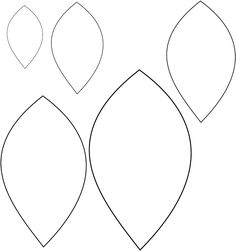 Flower Leaf Template Printable 1000 Ideas About On