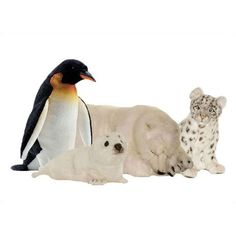 Hansa Toys Arctic Stuffed Animal Collection III