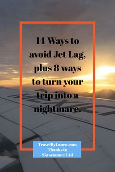Great article by Skyscanner, Ltd on how to avoid that pesky Jet Lag, plus 8 tips to help you destress, if you say, lose your passport, wallet or phone. The link is on my Free Travel Tips page at travelbylaura.com. Thank you Skyscanner, Ltd!
