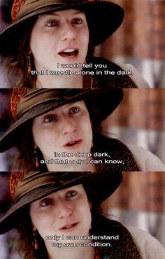 Nicole Kidman as Virginia Woolf in The Hours (2002)