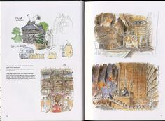 Miyazaki Spirited Away, Studio Ghibli, Vintage World Maps, Art, Art Background, Kunst, Performing Arts, Art Education Resources, Artworks