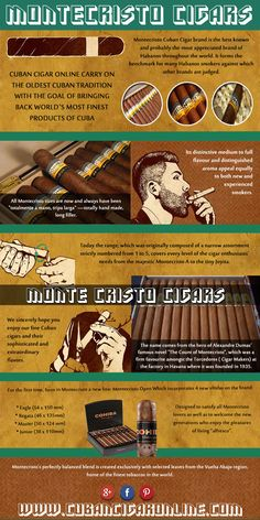 Check this link http://cubancigaronline.com/ right here for more information on Monte Cristo Cigars.