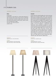 Lighting   Armani/Casa