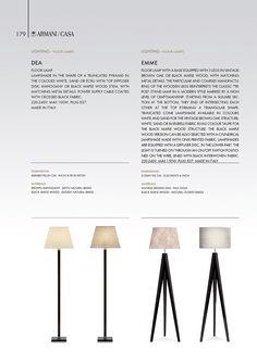 Lighting | Armani/Casa