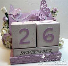 DIY Perpetual Calendar