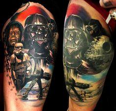 Fantasy Tattoo Star Wars