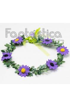coronas baratas de flores para el pelo, tiaras de flores, diademas de flores para el cabello, guirnaldas de flores - Tienda Esfantastica