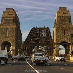 Of all of Sydney's iconic landmarks my favourite is the Harbour Bridge. This shot isn't your usual view of Sydney Harbour Bridge and I like how different it looks from different viewpoints and times of the day. I still find myself thinking 'I'm definitely not in Perth anymore' whenever I pass over it. by thetravelleur http://ift.tt/1NRMbNv