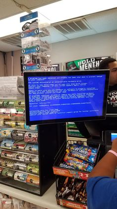 Oh well thats not good. #bsod #pbsod