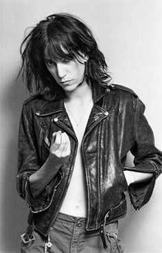 Patti Smith, young a