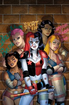 Harley Quinn 9 - Cover by Amanda Conner