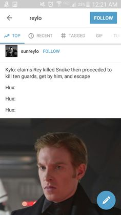 Hux the last jedi star wars  <<< I always knew Hux didn't believe Kylo, but now that it's put like this it gets 1000x funnier