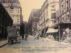le marché st pierre / le royaume de tissus  2 rue charles nodier / 18ème Paris