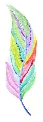 Color Pastel - Pastels!!!  Feather