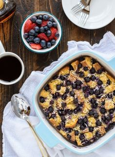 Blueberry Coconut French Toast                                   via @AOL_Lifestyle Read more: http://aol.it/1q4DUgq