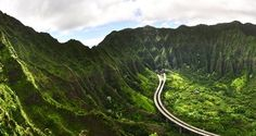 Kaneohe will always be my home. I miss it so much. Driving down this highway, seeing the waterfalls after it rains.. Memories.