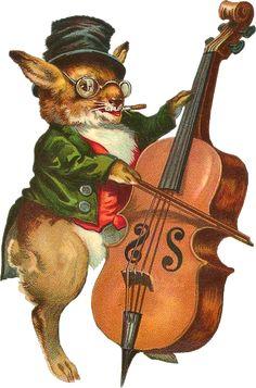 Glanzbilder - Victorian Die Cut - Victorian Scrap - Tube Victorienne - Glansbilleder - Plaatjes : Lustige Tiere - funny animals - drôles d'animaux