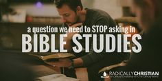 bible study question