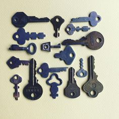"""Keys Keys and More keys   """"Oh the treasures you could unlock with these keys. One of them must fit my 1968 Diary.…"""""""