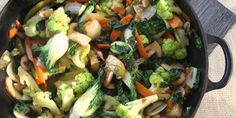 This combination of vegetables offers wonderful texture, held together by a spicy, garlic-y sauce.You might also like theseQuick and Easy Stir-Fry Recipes. Rice Recipes Vegan, Stir Fry Recipes, Veg Recipes, Easy Healthy Recipes, Healthy Cooking, Asian Recipes, Vegetarian Recipes, Healthy Eating, Cooking Recipes