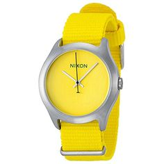 NIXON Womens Nylon Casual WatchModel A3481599 ** Read more  at the image link.Note:It is affiliate link to Amazon.