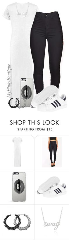 """#701"" by gorgeousmama29 ❤ liked on Polyvore featuring Lipsy, adidas and Belk & Co."