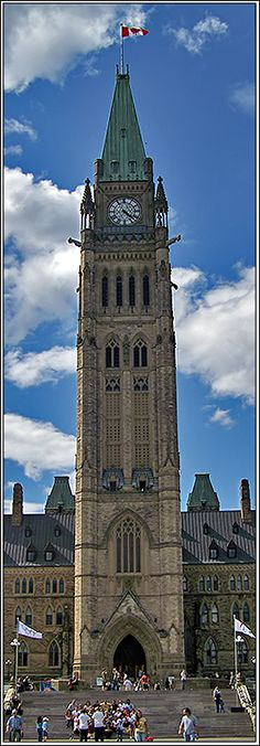 The Peace Tower, Ottawa, Canada Copyright: Daniel Popoi