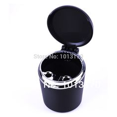 Car Accessories  automotive supplies car with a black mini ashtray large caliber Cigarette cylinder W322