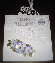 Inspiration   docrafts.com 3d Cards, Birthday, Tableware, Happy, Projects, Inspiration, Log Projects, Biblical Inspiration, Birthdays