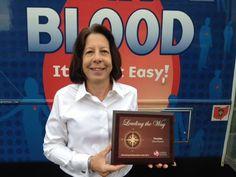 Congratulations to #Teradata! Proud partner in the CBC LifeSaving Ambassadors Club for 2013 ! CBC presented the Silver award to blood drive coordinator Chris Rashilla-Barton.