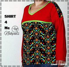 Freebook Shirt for me von Nähpuls