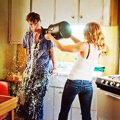 One of the best scenes of the movie!   Rob in Remember Me