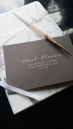 Items similar to White Ink Envelope Printing, White Calligraphy, Envelope Addressing, Guest & Return Addresses, Envelope on Etsy 5x7 Envelopes, Addressing Envelopes, Addressing Wedding Invitations, Invites, Wedding Calligraphy, Calligraphy Envelope, Envelope Address Printing